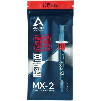 ТЕРМОПАСТА ARCTIC MX-2 (4Г, ШПРИЦ) (OR-MX2-AC-01)