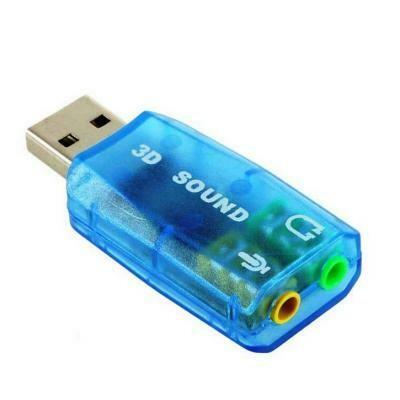 Звуковая карта (7.1 virtual channel) (RTL) USB 2.0
