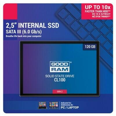SSD накопитель Goodram CL100 Gen.2 120GB