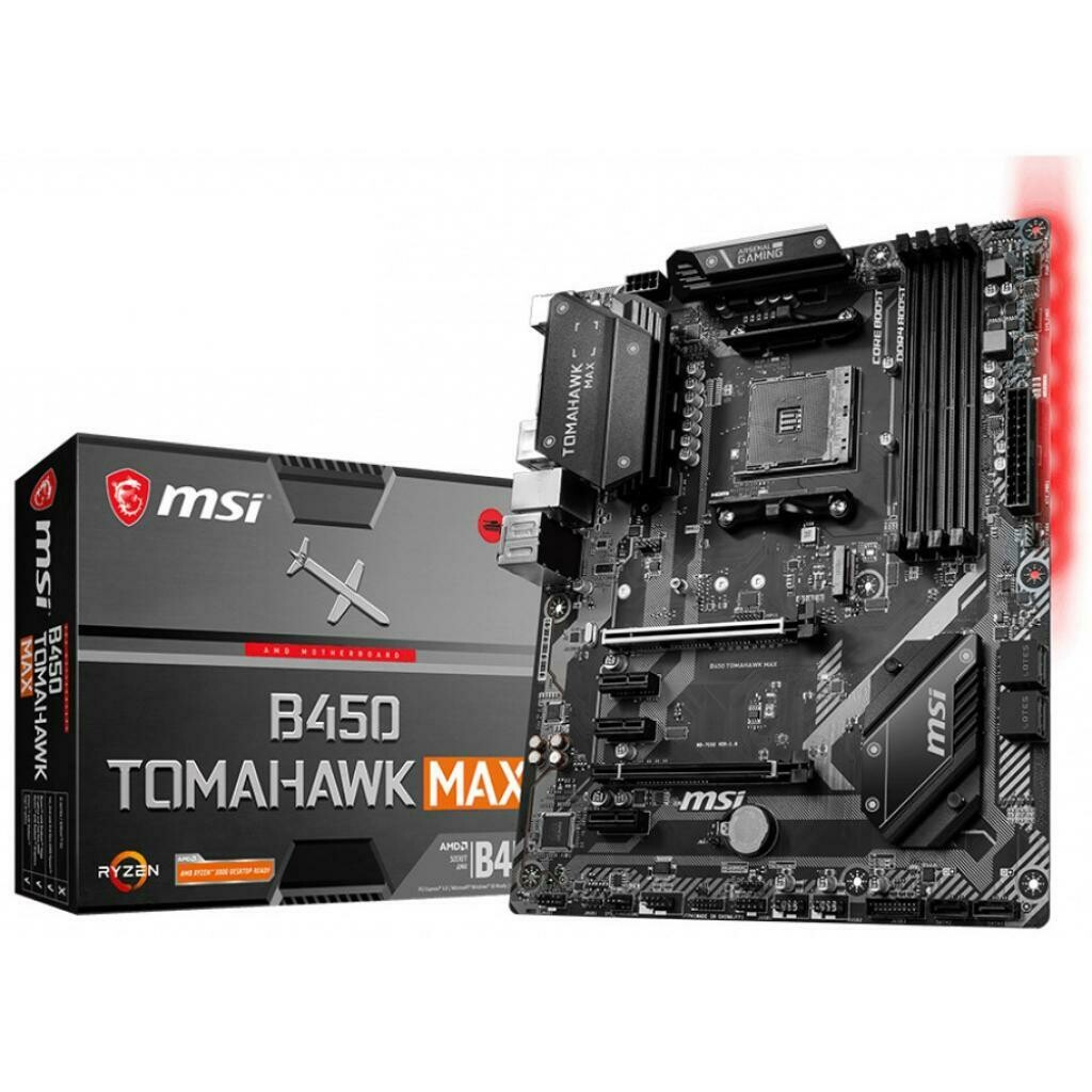 Материнская плата MSI B450 Tomahawk Max