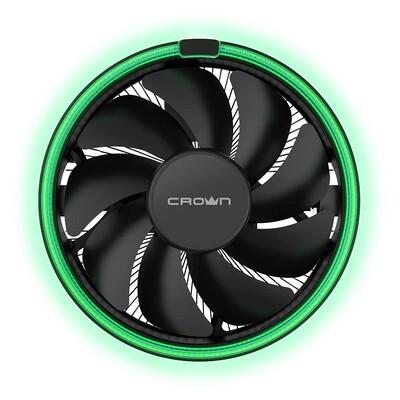 Кулер для процессора CROWN CM-1152PWM [CM-1152PWM GREEN]
