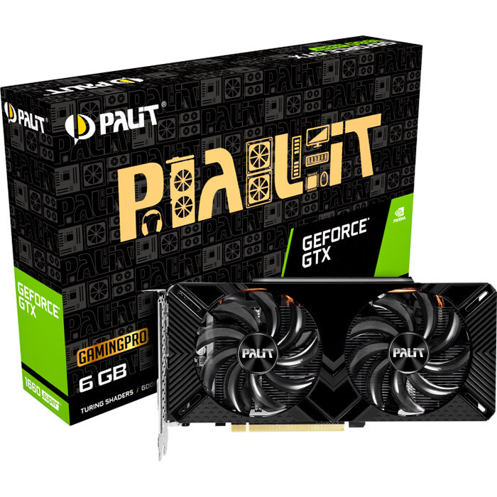 Видеокарта Palit GeForce GTX 1660 SUPER Gaming Pro