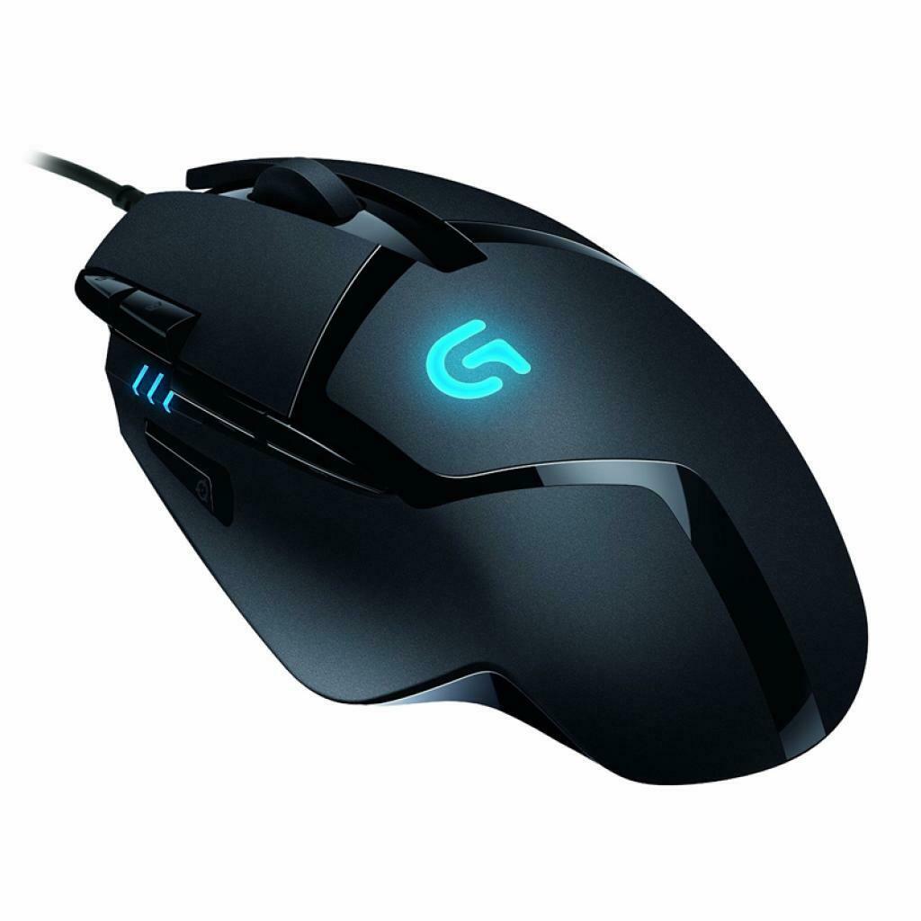 Мышь проводная Logitech G402 Hyperion Fury черный