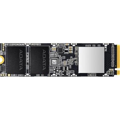 SSD накопитель A-DATA XPG SX8100 ASX8100NP-512GT-C 512ГБ, M.2 2280, PCI-E x4, NVMe