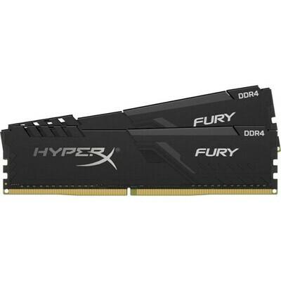 Оперативная память Kingston HyperX FURY Black [HX432C16FB3K2/16] 16 ГБ