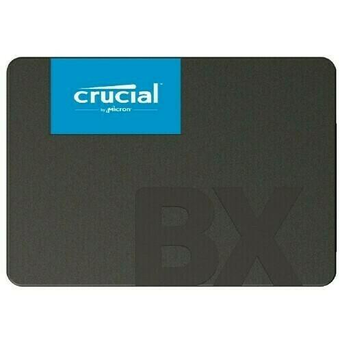 НАКОПИТЕЛЬ SSD CRUCIAL SATA III 480ГБ CT480BX500SSD1BX500 2.5''