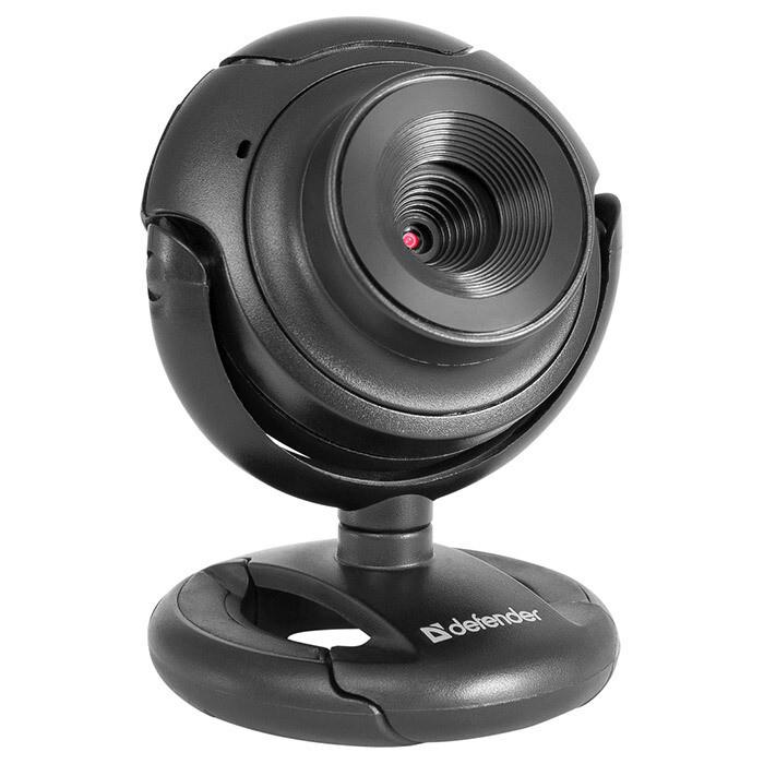 Веб-камера Defender C-2525HD, USB, чёрный