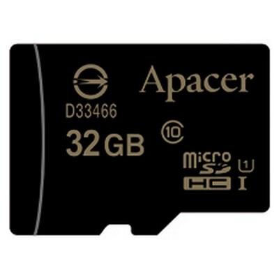 Карта памяти APACER microSDHC 32GB UHS-I Class 10 (AP32GMCSH10U1-RA)