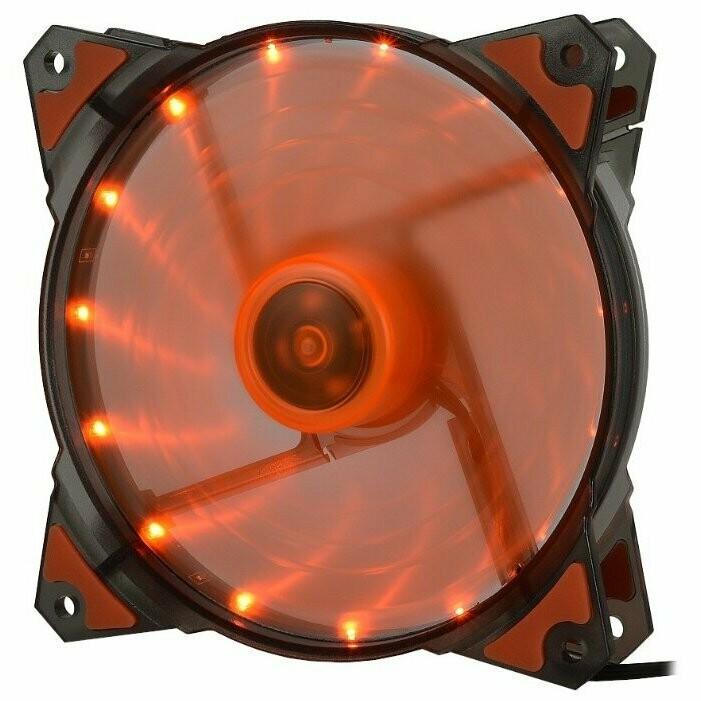 Вентилятор Crown 120mm RED LED