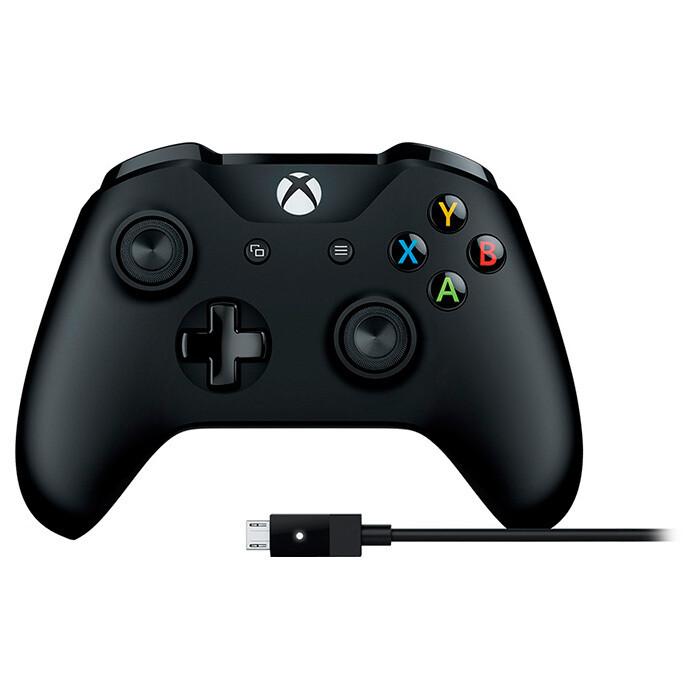 Геймпад Microsoft Xbox ONE for Windows для PC/Xbox ONE черный