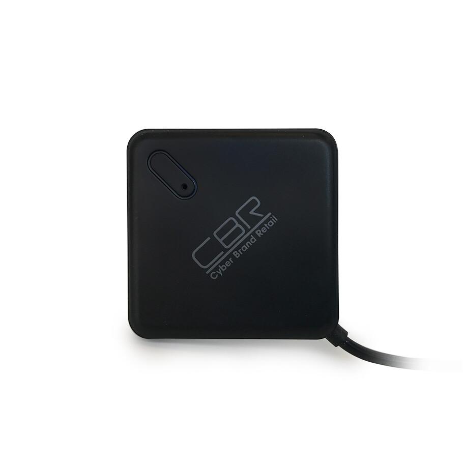 Разветвитель USB (Hub) CBR CH 132, 4 порта, поддержка plug&play, USB 2.0, черный