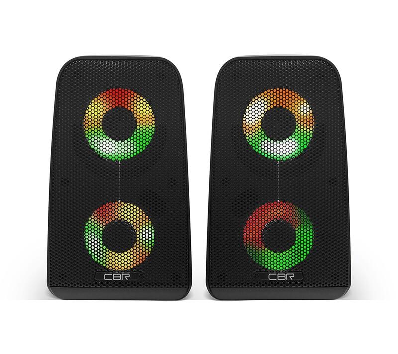 Колонки CBR CMS-512L Black