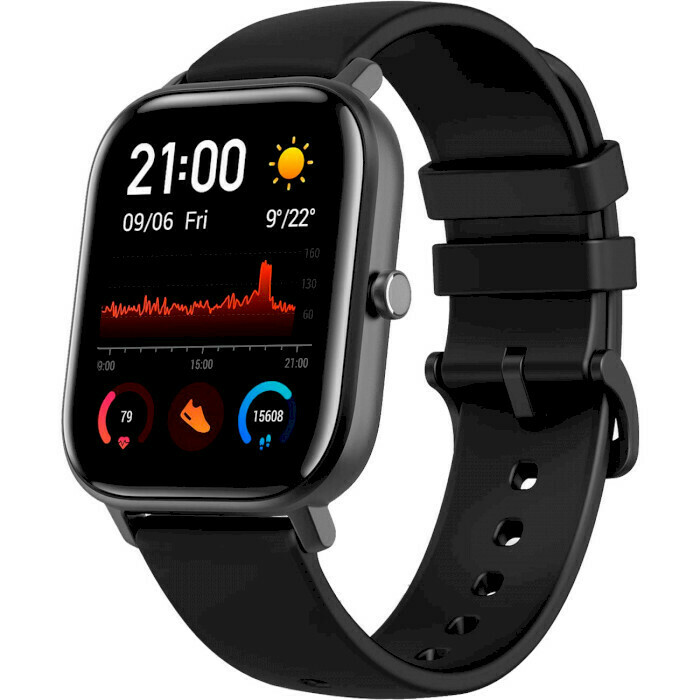 Умные часы Xiaomi Amazfit GTS Global A1914 Obsidian Black