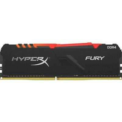 Оперативная память Kingston HyperX FURY RGB [HX437C19FB3A/16] 16 ГБ