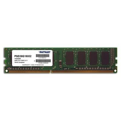 Модуль памяти PATRIOT Signature Line DDR3 1333MHz 8GB (PSD38G13332)