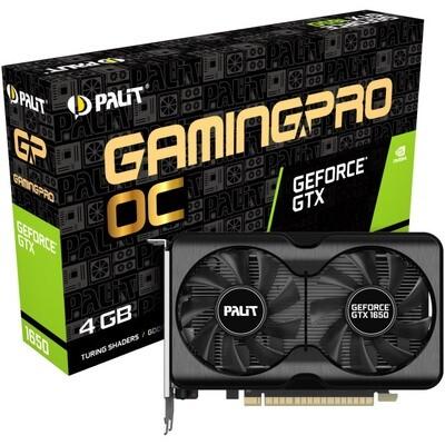 Видеокарта Palit GeForce GTX 1650 Gaming Pro OC [NE61650S1BG1-1175A]