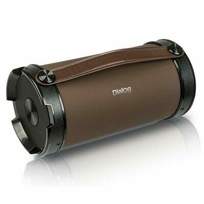 Портативная аудиосистема Dialog Ap-1000 коричневый