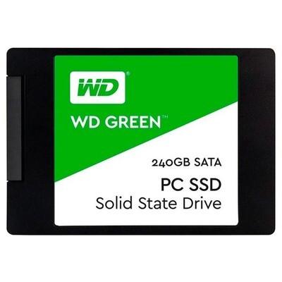 """SSD WD Green 240GB 2.5"""" SATA (WDS240G2G0A)"""