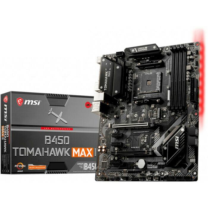 Материнская плата MSI B450 Tomahawk Max II