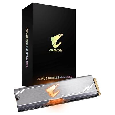 SSD AORUS RGB 256GB M.2 NVMe (GP-ASM2NE2256GTTDR)