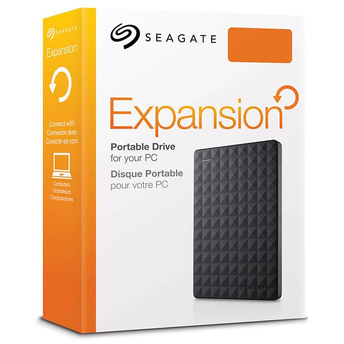 Портативный жёсткий диск SEAGATE Expansion 2TB USB3.0 (STEA2000400)