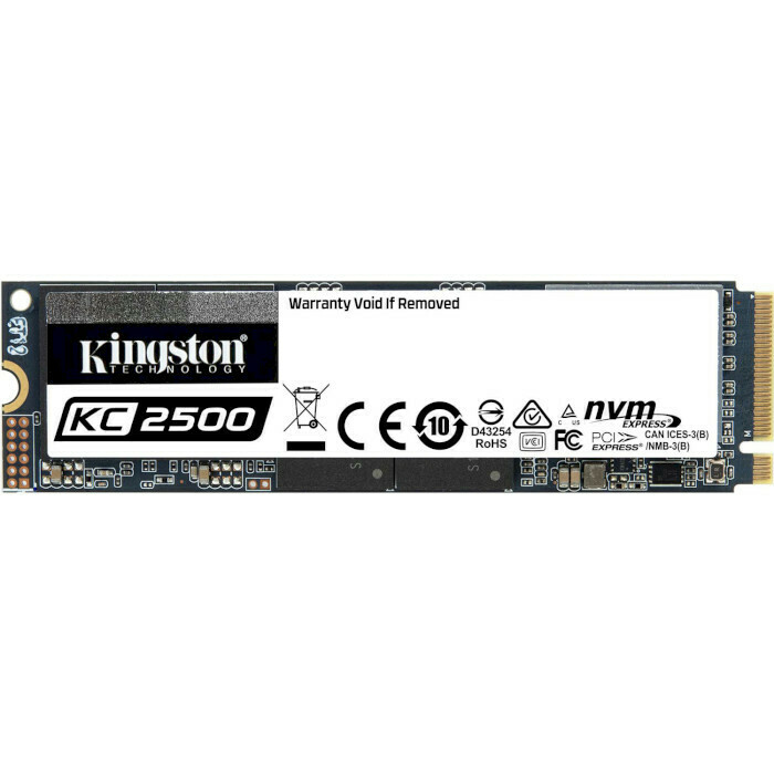 SSD KINGSTON KC2500 500GB M.2 NVMe (SKC2500M8/500G)