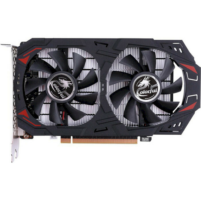 Видеокарта COLORFUL GeForce GTX 1050 Ti NE 4G-V
