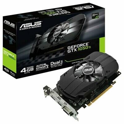 Видеокарта ASUS Phoenix GeForce GTX 1050 Ti 4GB GDDR5 (PH-GTX1050TI-4G)