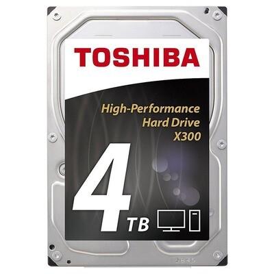 "Жёсткий диск 3.5"" TOSHIBA X300 4TB SATA/128MB (HDWE140UZSVA)"