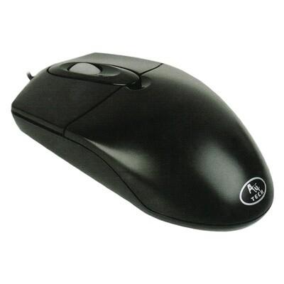 Мышь A4TECH OP-720 USB Black кабель в оплетке