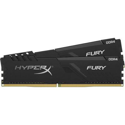 Оперативная память Kingston HyperX FURY Black [HX426C16FB3K2/16] 16 ГБ