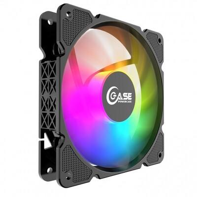 Вентилятор Powercase (M3LED) 5 color LED OEM