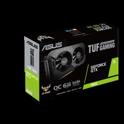 Видеокарта Asus GTX 1660 TUF Gaming OC 6GB GDDR5 (TUF-GTX1660-O6G-GAMING) продажа только с Intel Core i3-10100F OEM