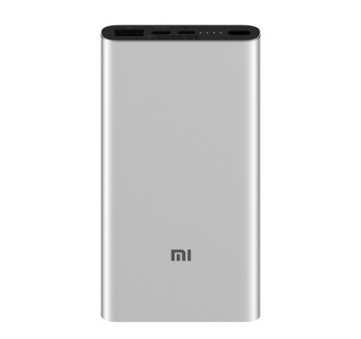 АКб POWER Bank 3 Xiaomi 10000 mAh QCh silver ORIG