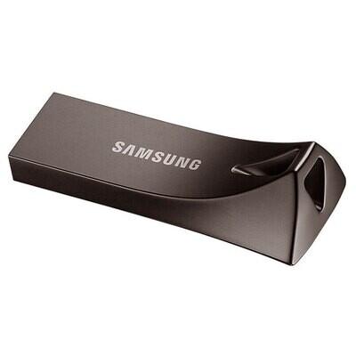 Флэшка SAMSUNG Bar Plus 128GB Titanium Gray (MUF-128BE4/APC)