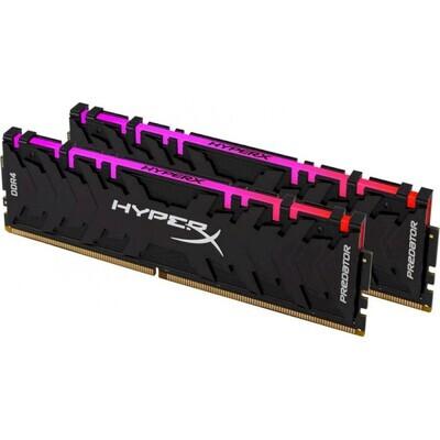 Модуль памяти HYPERX Predator RGB DDR4 3600MHz 32GB Kit 2x16GB (HX436C17PB3AK2/32)