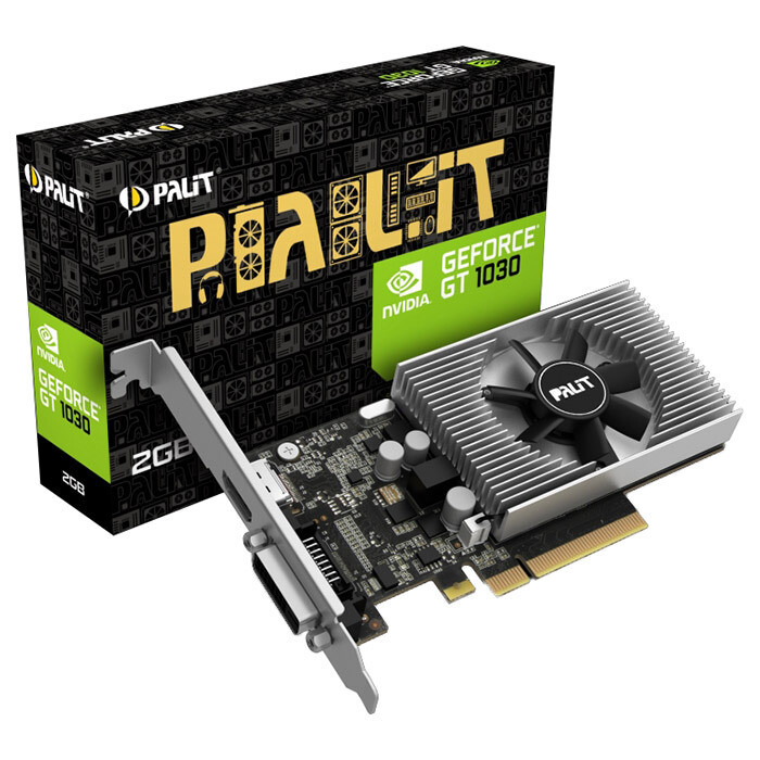Видеокарта PALIT GeForce GT 1030 (NEC103000646-1082F)