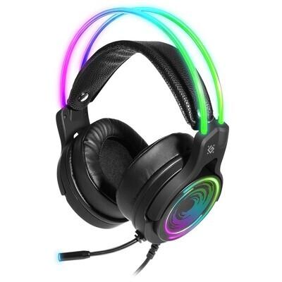 Игровая гарнитура Defender Cosmo PRO объемный звук 7.1, RGB, 2.1 м