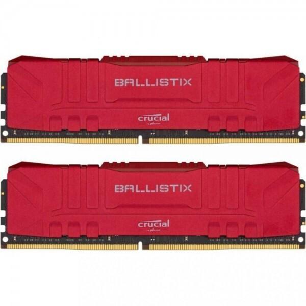 Модуль памяти CRUCIAL Ballistix Res DDR4 2666MHz 16GB Kit 2x8GB (BL2K8G26C16U4R)
