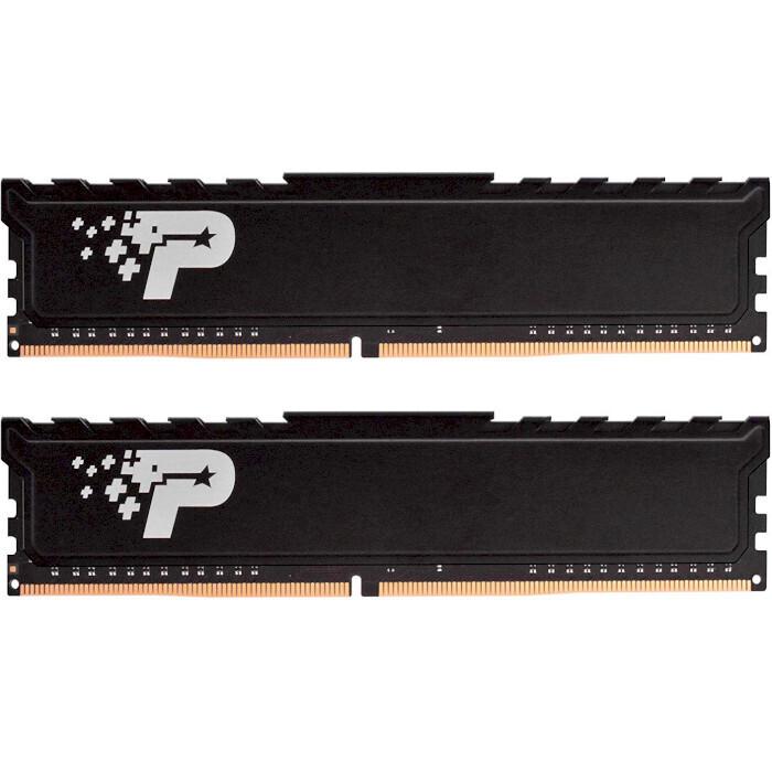 Модуль памяти PATRIOT Signature Line Premium DDR4 3200MHz 16GB Kit 2x8GB (PSP416G3200KH1)