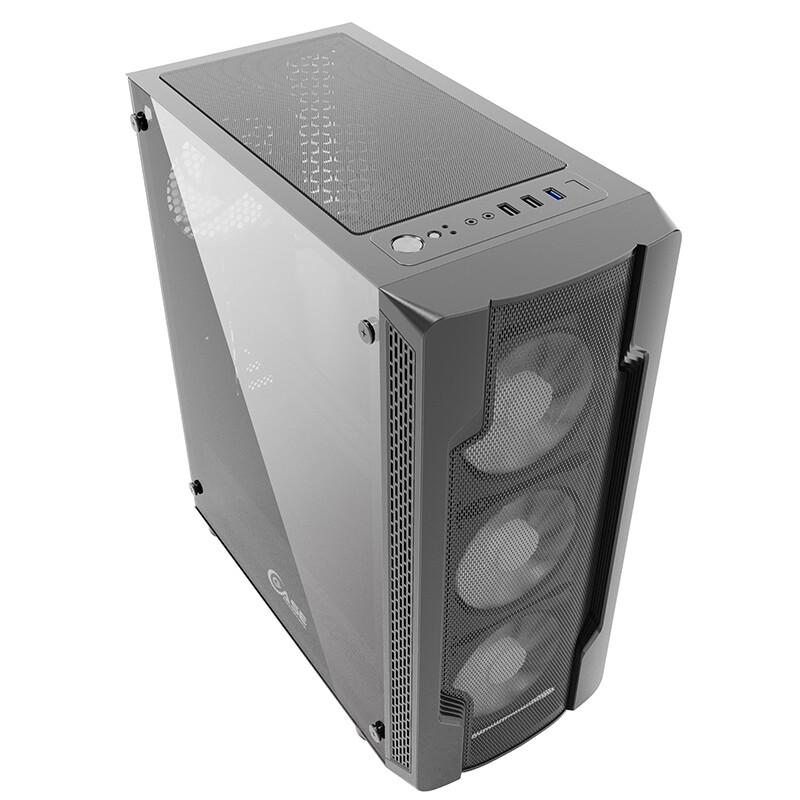 Корпус Powercase Mistral X4 Mesh (CMIXB-F4)