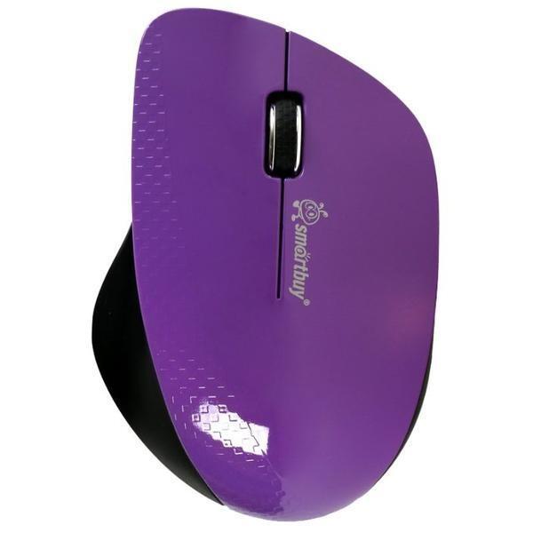 Мышь беспроводная SmartBuy 309AG фиолет/черный (SBM-309AG-P)