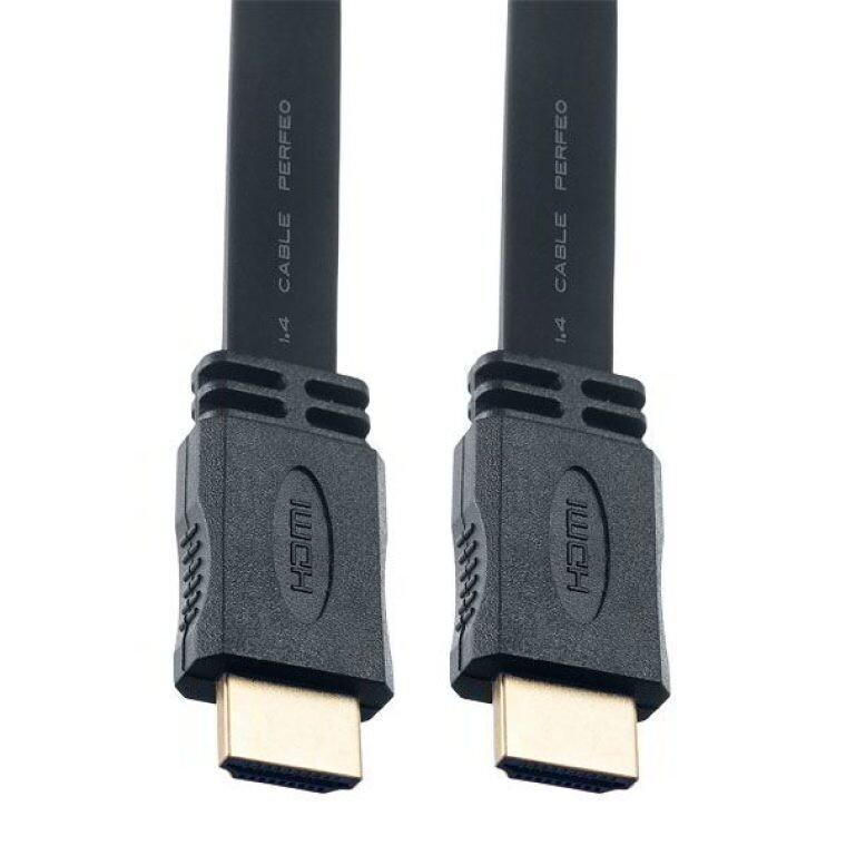 Кабель HDMI-HDMI Perfeo H1302 2m плоский