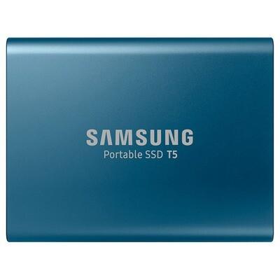 Портативный SSD SAMSUNG T5 500GB Blue (MU-PA500B/WW)