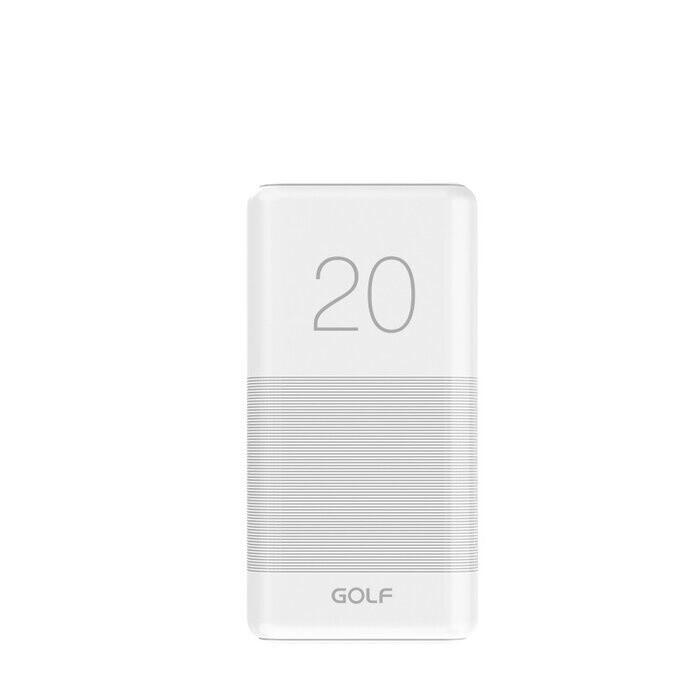 Power Bank GOLF G81 20000mah White