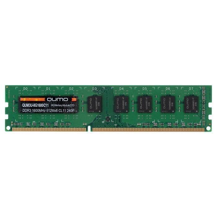 Оперативная память QUMO [QUM3U-8G1600C11] 8 ГБ