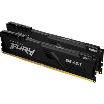 Модуль памяти KINGSTON FURY Beast DDR4 2666MHz 16GB Kit 2x8GB (KF426C16BBK2/16)