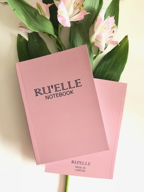 Pink Ru'Elle Notebook