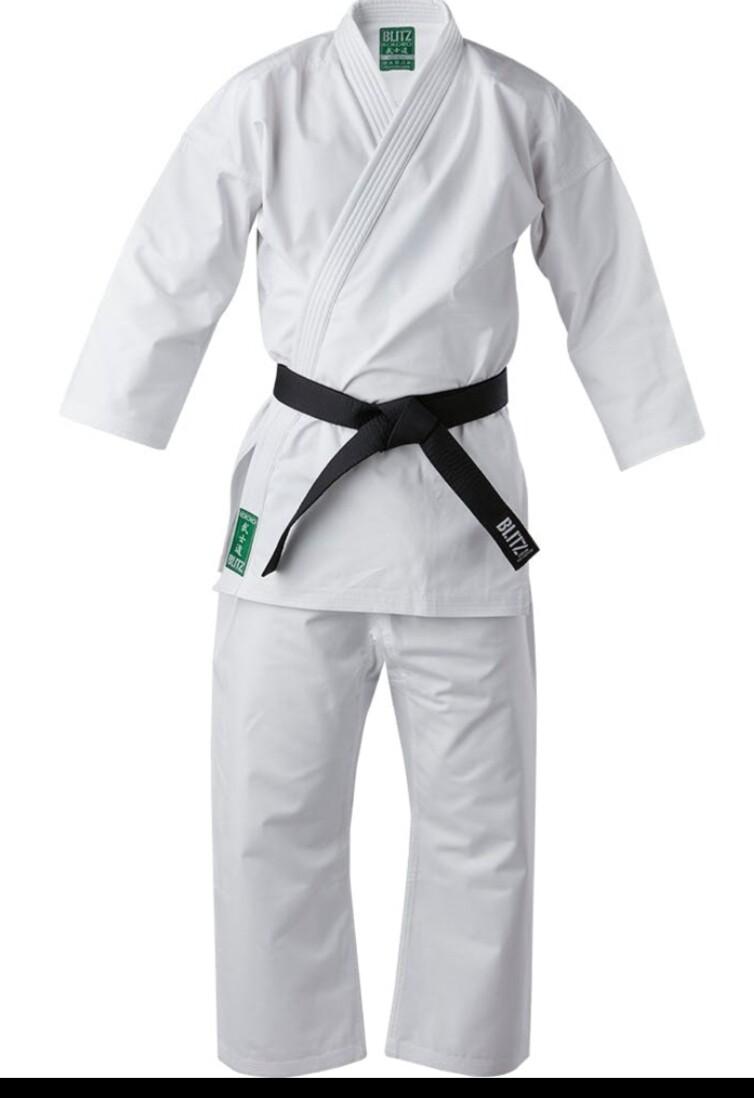 Middleweight White Karate Uniform