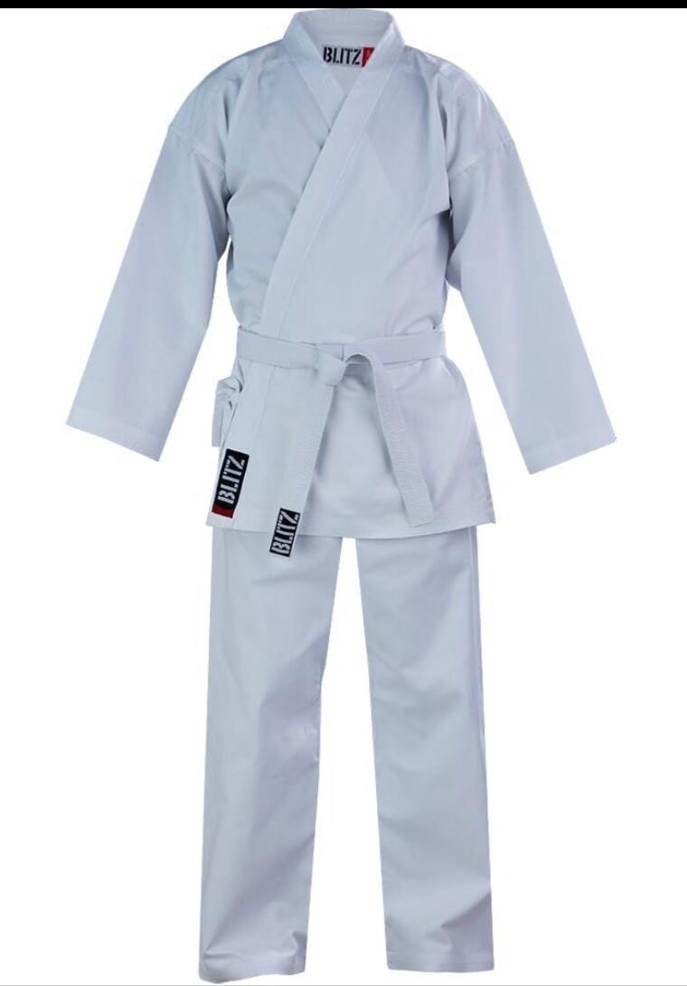 Lightweight White Karate Uniform